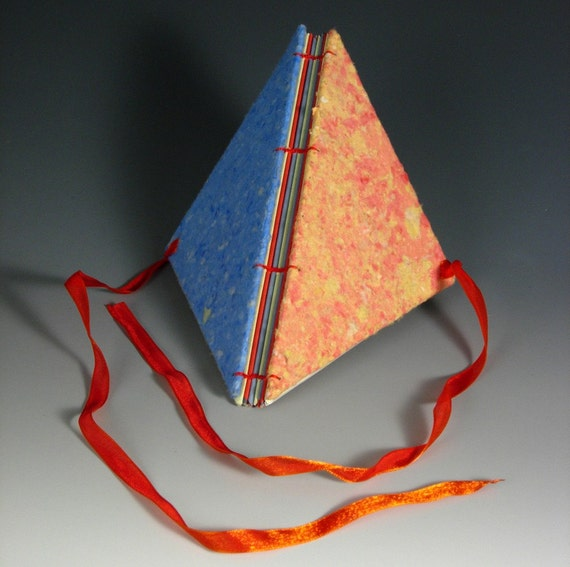 Blue and Orange Triangle Journal