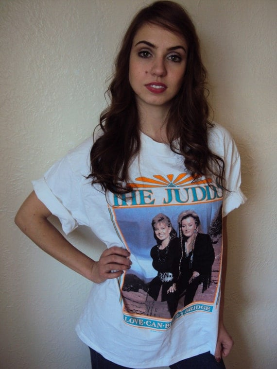 Vintage 90s The Judds Country Rock Concert T shirt