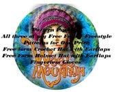 Pattern Package of Wool Mountain Studios Freeform Freestyle Patterns pdf files
