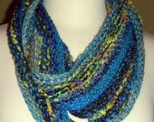 50% Off Use Coupon Code WOOL50 at Checkout Moebius Scarf Knitted with Various Novelty, Wool, Silk Yarns