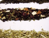 Artisan Tea Sampler - samples of 4 loose leaf teas