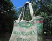Mauigrown Coffee Sack Tote