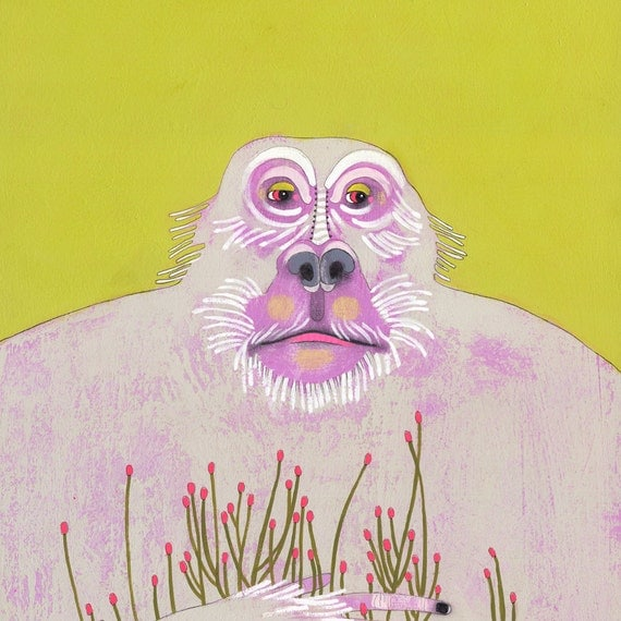 art print- limited edition - Gentle Giant