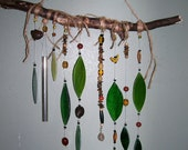 The Forest Floor, Glass Leaves, Stones, Nuts, Windchime, Mobile