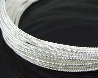 KX-010 thai karen hill tribe handmade silver 10ft. triple twist wire 20ga.
