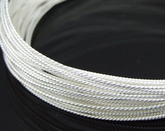 KX-022 thai karen hill tribe handmade silver 10ft. triple twist wire 24ga.