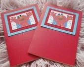 Set of 2 Elmo Cards
