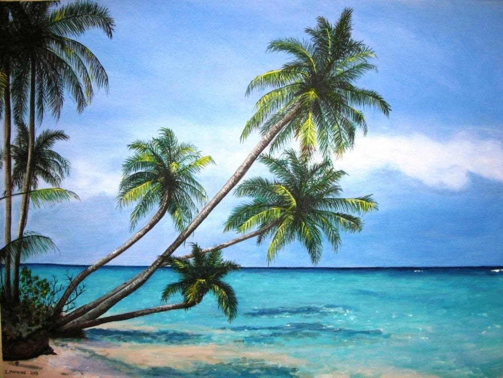 Abstract paintings of palm trees images for Painting palm trees