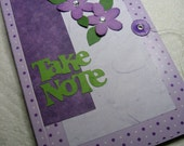 Take Note Upcycled Notebook