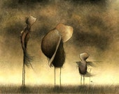 Many Standing Mysteries - 5 x 7 fine art print