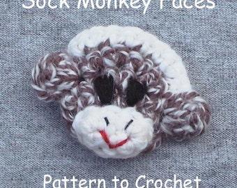 PATTERN - Little Monkey Faces