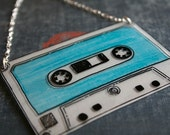 I made you a mixed tape necklace