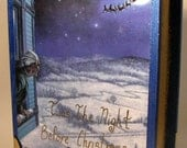 Twas the Night Before Christmas Storybook Box (Blue)