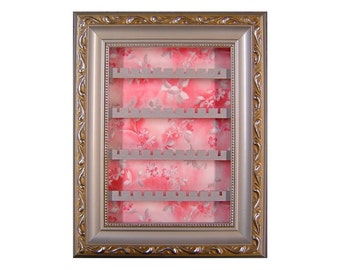 Silver Bloom Earring Holder - Small