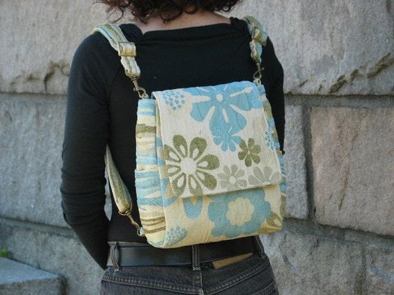 purse backpack converts to messenger crossbody bag womens