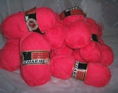 Tangerine yarn supplies knitting crocheting fibers ZNE