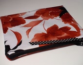 Floral Pouch- Reserved For Shubey