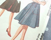 Vintage Pattern  -  Wrap-Around Skirt