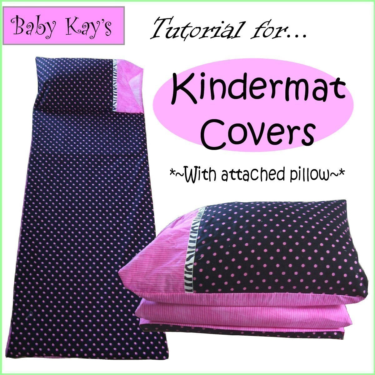 How To Make Removable Throw Pillow Covers With Velcro Closure : diy tutorial for KINDERMAT COVERS with attached pillow PDF