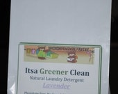 Lavender - All  Natural Laundry Detergent - 40 Loads - Itsa Greener Clean - Essential Oil