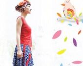 SALE- Multi functional Summer Skirt/Blouse