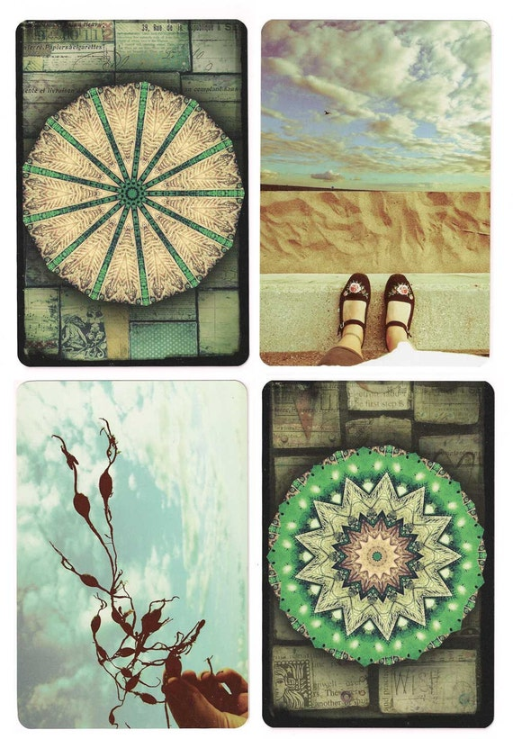 Seaside Explorer Mandala Postcard Set