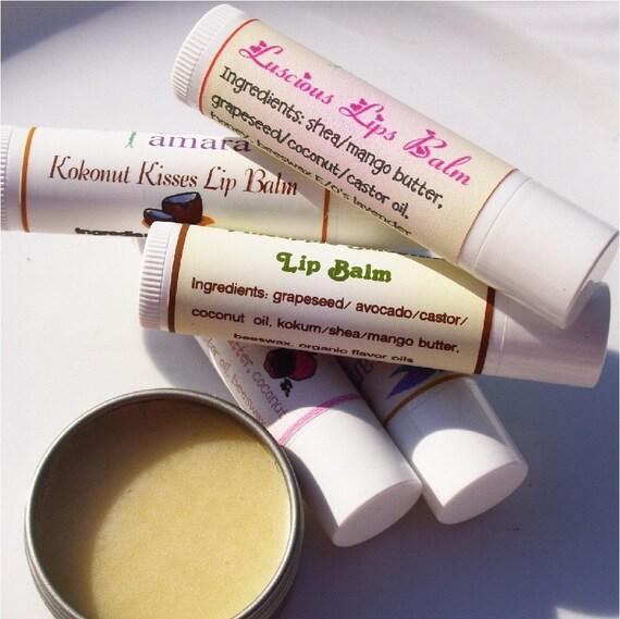 Natural Lip Balm (Vegan)