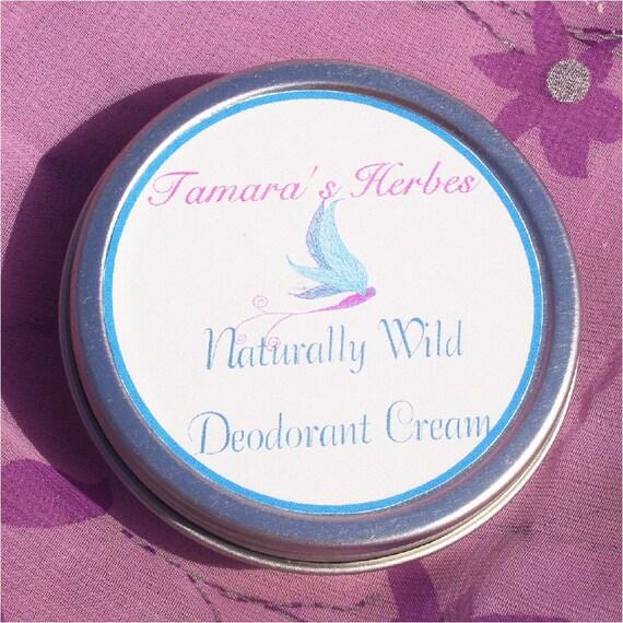 Naturally Wild Deodorant Cream