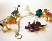 Dinosaur Toy Necklace