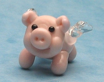 made to order margo lampwork beads when pig fly