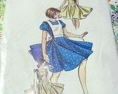 Vintage Square Dance Dress Pattern