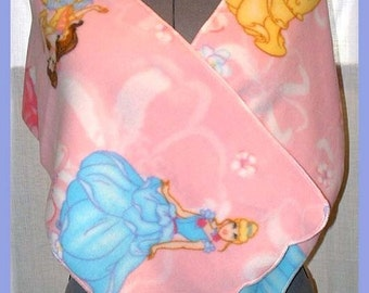 Cinderella and Belle Wrap, Large Fleece Scarf, Muffler, Neck Scarf, Cowl, Extra Wide Style