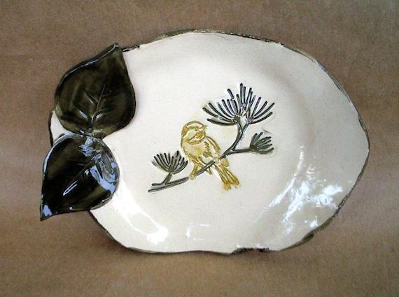 Ceramic Bird Bowl