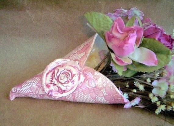 Ceramic Lace Wall Vase