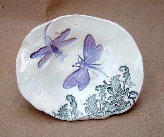 Ceramic Dragonfly Bowl