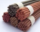 Natural Incense Stick - (sandalwood - pathouli - oriental herbs) - HIBIKI (Echo) - One Bundle of 28 Sticks