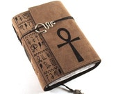 Ankh - Leather Journal, Diary, Book