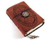 Book of Shadows, Leather journal, Notebook, GRIMOIRE