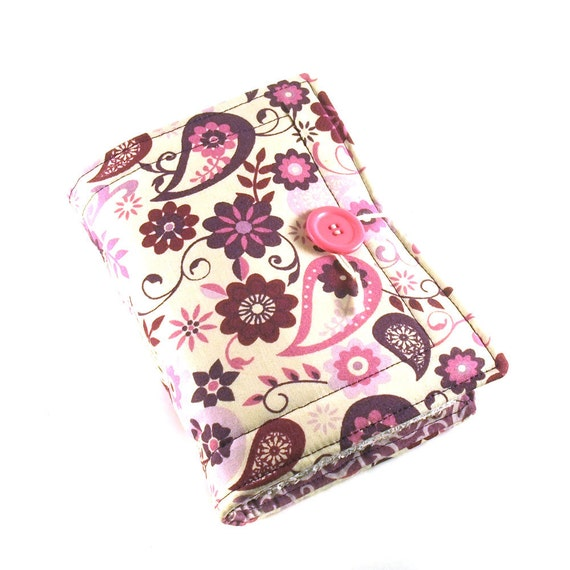 Fabric journal, Flowerpower