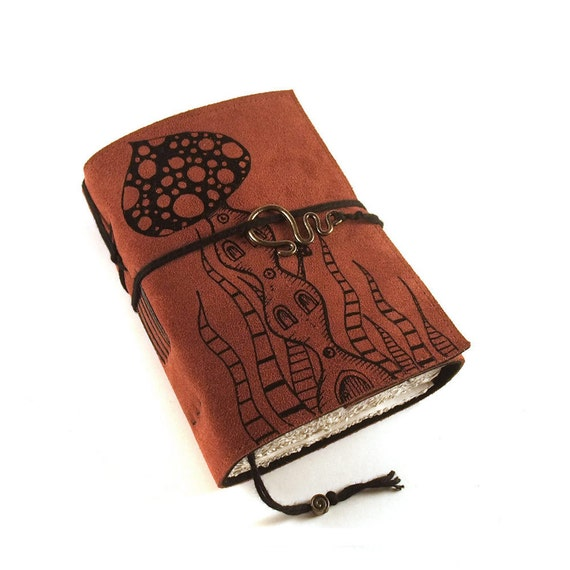 Leather journal, Suede, Somewhere Else