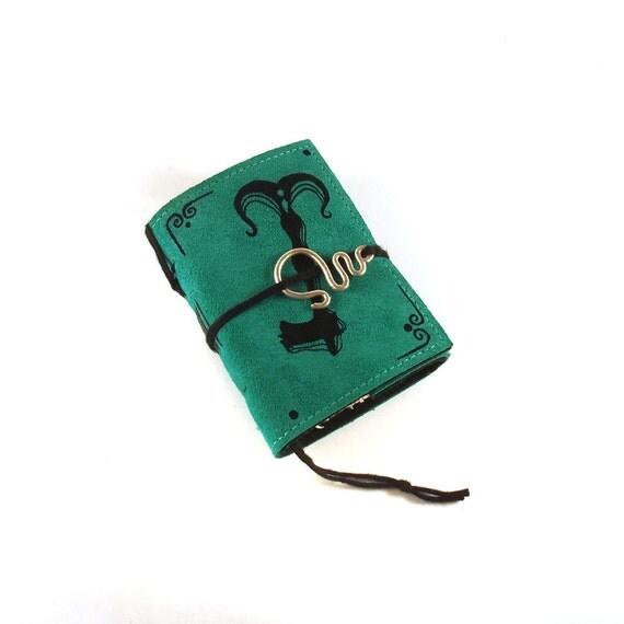 Key, Mini  Leather Journal