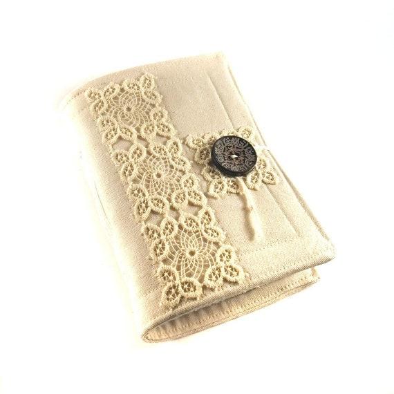 Purity, Fabric journal, Handmade book