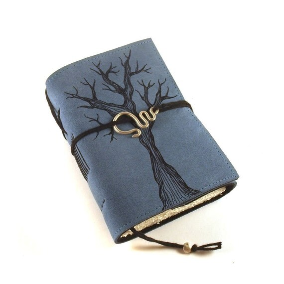 Leather journal, Notebook: Tree