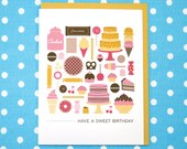Have a Sweet Birthday Card
