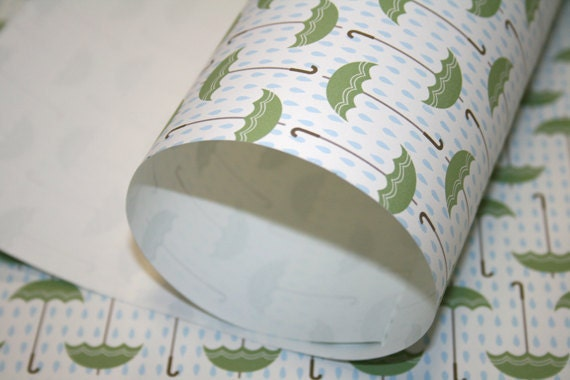 Rainy Day in Paris Wrapping Paper
