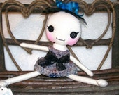 Baby Jane Button Eyed Art Doll Girl