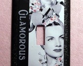 Carmen Miranda Light Switch Cover, Single