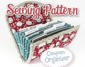 PDF SEWING PATTERN - Coupon Organizer Expense Organizer Coupon Wallet Receipt Organizer Cash Budget Organizer  Instant Download