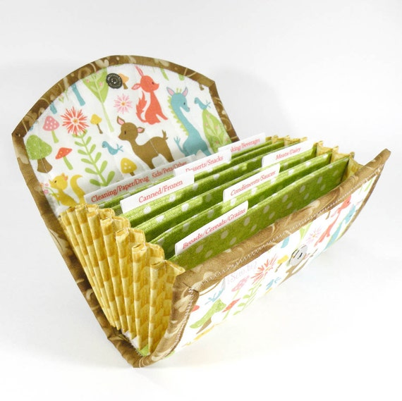 COUPON ORGANIZER - Woodland Tails
