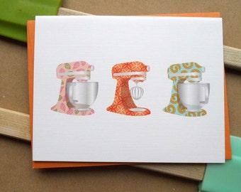 Mixers Card: single card or boxed set